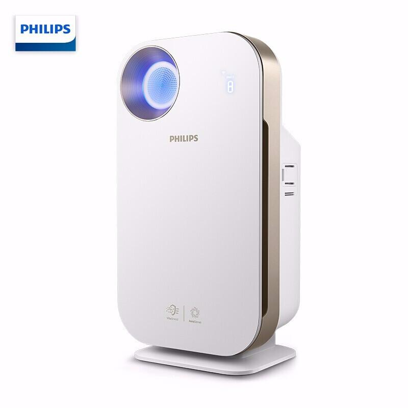 飞利浦(PHILIPS)空气净化器 除甲醛 除雾霾 除过敏原 除细菌 病毒 数字显示 智能生态产品AC4558/0 可以手机链接控制智能加湿器