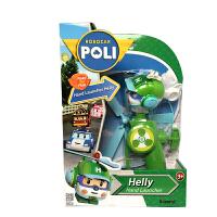 变形警车珀利Poli 海利发射器竹蜻蜓飞天玩具 儿童户外玩具