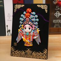 京剧脸谱摆件 中国色礼物送老外出国礼物民间色工艺品礼物