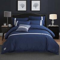 四件套全棉纯棉简约床品1.8m床单被套被子双人网红床上用品1.5米