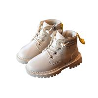 女童马丁靴秋冬加绒英伦风公主短靴儿童二棉靴子