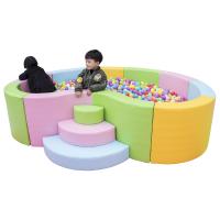 室内儿童海洋球池决明子宝宝游戏护栏亲子游乐场软包软体围栏