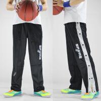 新款男士运动裤 马刺队邓肯帕克吉诺比利篮球服 训练裤 黑色 XXXX