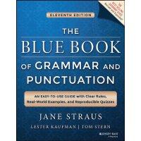【现货】英文原版 英语语法蓝皮书(语法与标点符号蓝皮书) The Blue Book of Grammar and P