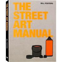 【英文版】The Street Art Manual 街头涂鸦指导手册 欧洲专家编辑 书籍