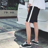 港风夏装新款运动短裤男士韩版宽松直筒休闲中裤青少年五分裤子潮
