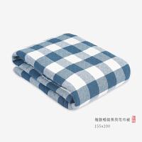 纱布毛巾被纯棉单人双人夏季纱布被毛巾毯空调毯薄夏凉被床单