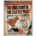 【预订】The True Story of the Three Little Pigs 25th Anniversar