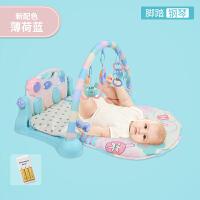 脚踏钢琴健身架器新生婴儿玩具3-6-12个月宝宝0-1岁儿童音乐益智2
