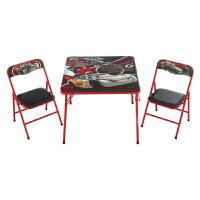 迪士尼儿童家具 铁质折叠桌椅 儿童折叠桌椅 儿童学习桌椅 餐桌椅 S