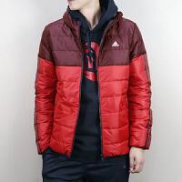 Adidas阿迪达斯 男子 羽绒服 连帽保暖防风加厚羽绒服 BQ4184