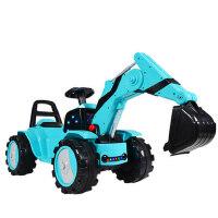 儿童电动挖掘机工程车可坐可骑宝宝超大号男孩挖土机可遥控玩具车