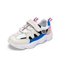 女童运动鞋时尚儿童百搭鞋子中大童网面老爹鞋男童鞋