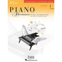 英文原版 菲伯尔钢琴基础教程(4级):技艺 Piano Adventures: Level 4: Technique