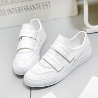 匡王2017秋季新款透气小白鞋女百搭学生平底板鞋休闲鞋女鞋