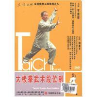 新华书店正版 太极名师系列 太极拳武术段位制单碟DVD