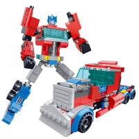 儿童积木玩具 变形金刚擎天柱机器人拼装积木玩具汽车人男孩儿童礼盒装生日礼物 81603擎天机甲