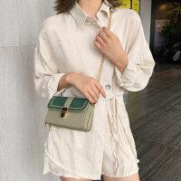 户外包包女时尚女士磨砂单肩包洋气链条斜挎包