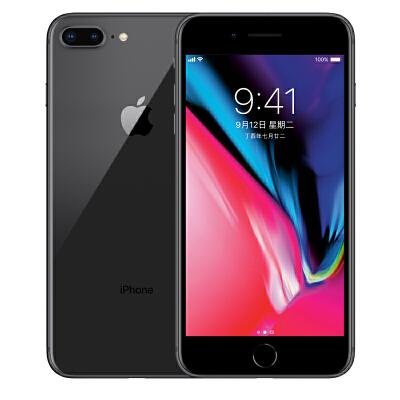 Apple iPhone 8 Plus (A1864)  64G 深空灰色 支持移动联通电信4G手机可使用礼品卡支付 国行正品 全国联保