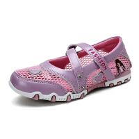 夏季儿童鞋女童网鞋透气运动鞋小女孩网眼公主鞋单鞋女童运动凉鞋N68