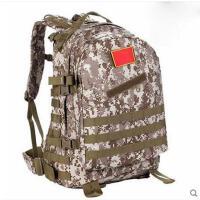 学生作战训练背包旅游徒步迷彩帆布包大容量户外双肩背包防水电脑包登山旅行包