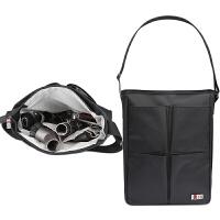 戴森吸头收纳包配件吸尘器工具包便携整理包带单肩手提保护套盒 6吸头装 黑色