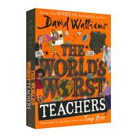 大卫威廉姆斯2019新小说 The World's Worst Teachers David Walliams 世界上