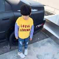 男童卫衣秋装洋气 儿童上衣T恤长袖