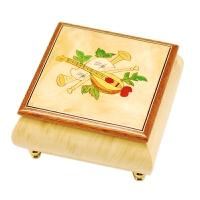 【当当自营】韵升 RHYMES 30音 定制系列 创意礼品 玩具 八音盒 木制 方盒音乐盒 Y30MS1-B