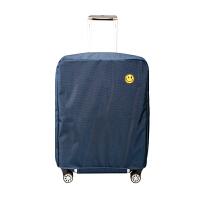 行李箱保护套拉杆箱套旅行箱皮箱套罩防水牛津布2022/24/28寸耐磨 藏青 牛津布【28寸】