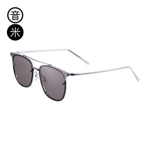 音米男士太阳镜2017新款潮  时尚太阳镜女金属墨镜方框墨镜女士