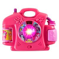 儿童仿真照相机投影机男女孩玩具过家家拍照 小马宝莉8288照相投影机