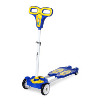 新品乐贝剪刀车 蛙式滑板车儿童 四轮踏板车 摇摆车