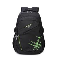 智尔娜 书包中学生男书包双肩包男休闲背包初中高中学生行李背包