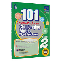 SAP 101 Challenging Maths Word Problems Book 2 新加坡数学101个数学必