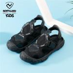 诺诗兰童鞋儿童凉鞋男大童2021夏季新款时尚潮流魔术贴男童运动沙滩鞋