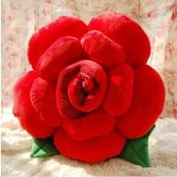 大号玫瑰花抱枕毛绒玩具情人节结婚庆生日礼物女创意靠垫