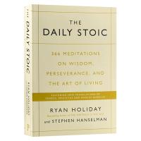 The Daily Stoic 每日的修行 366个关于智力 毅力与生活艺术的沉思 英文原版