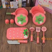 六一礼物宝宝厨房餐具配件锅具厨具套装过家家女孩玩具礼物1-4岁