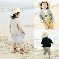 女童上衣1岁3个月男宝宝打底衫婴儿开衫长袖针织衫
