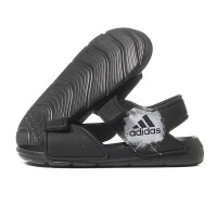 adidas阿迪达斯童2018夏季新款运动鞋男女小童魔术贴休闲凉鞋BA9287