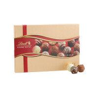 【 网易考拉】Lindt 瑞士莲 高级松露巧克力金装礼盒 207克/盒*2