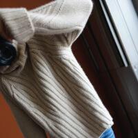 秋冬欧洲站加厚纯色羊绒衫女高领慵懒风宽松毛衣套头针织衫女 X