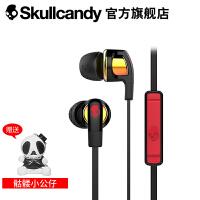 SKULLCANDY SMOKIN BUD 2(烟斗)手机线控带麦入耳式耳机 黑金色