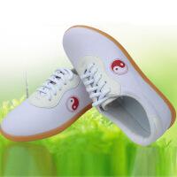 太极鞋帆布鞋武术鞋功夫鞋练功鞋加厚牛筋底透气舒适