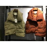 G2秋冬短款羽绒马甲女羽绒服 学生韩版外套百搭新款学院风0.6