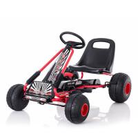 儿童四轮脚踏自行车运动玩具汽车可做男女宝宝健身童车 新款环保轮TL-6688脚踏卡丁车