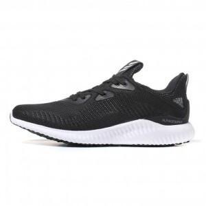 adidas阿迪达斯男鞋跑步鞋阿尔法小椰子2018运动鞋BW0538
