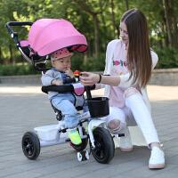 儿童三轮车脚踏车1-3车子手推车自行车儿童玩具车三轮车宝宝