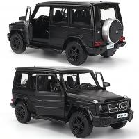 奔驰G63越野车合金车模男孩玩具车金属汽车模型路虎卫士收藏摆件.